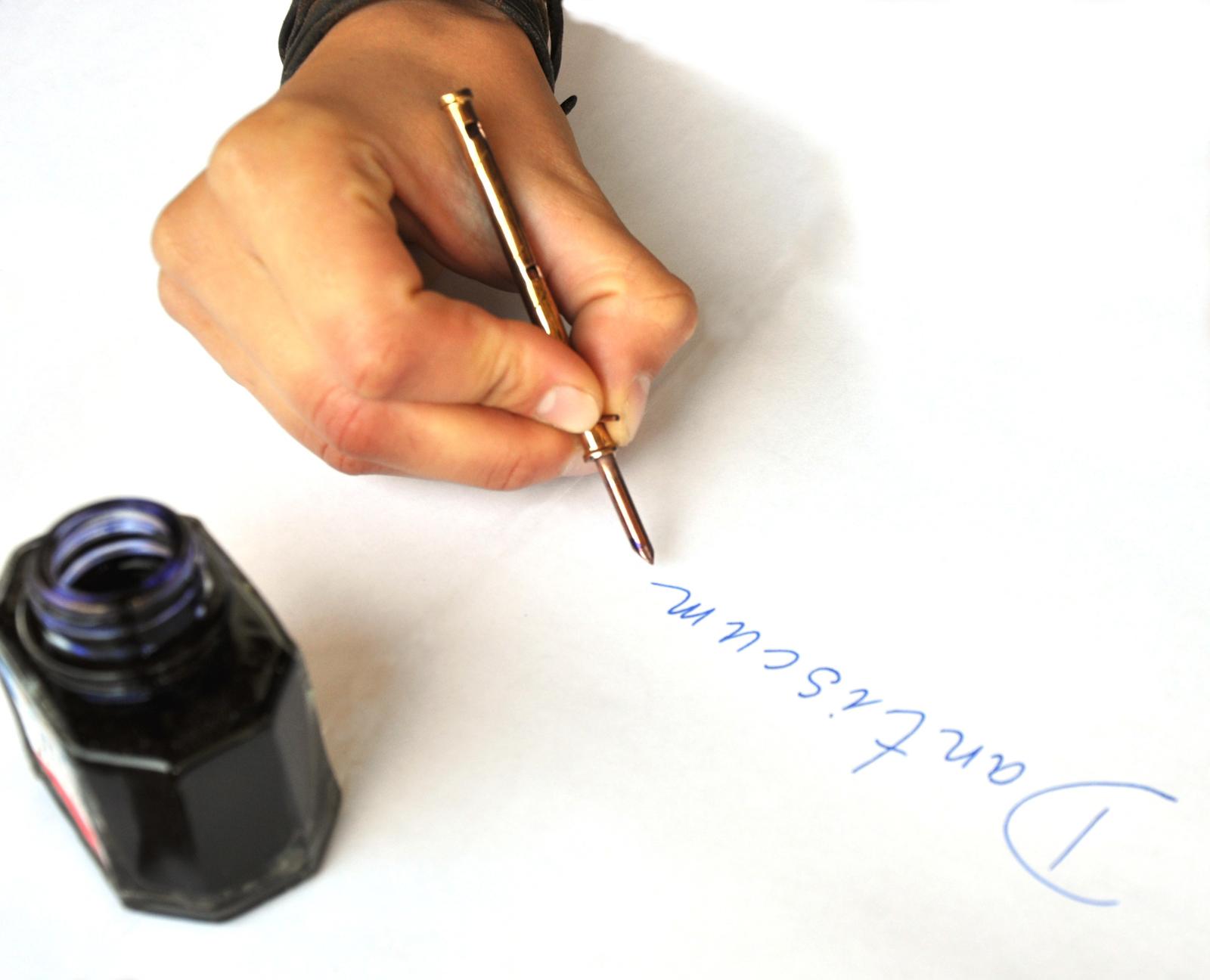 Pioro-pisanie